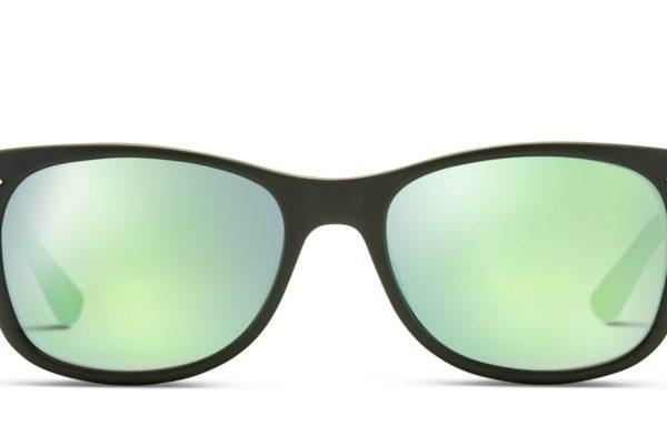 Ray-Ban JR Kids 9052S Black w/Green (Non-Rx-able)