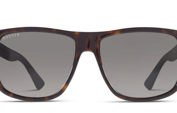 Gucci GG0010S Tortoise w/Gray