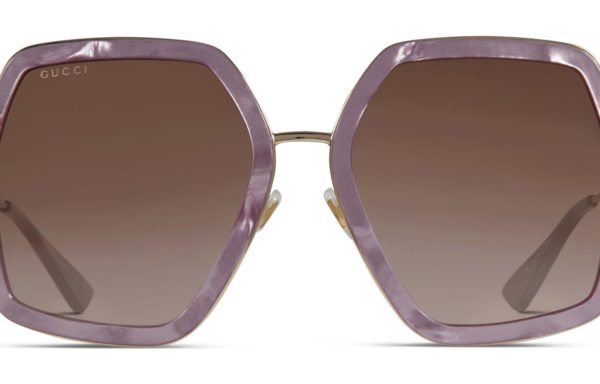 Gucci GG0106S Purple w/Gold